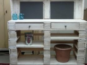 pflanztisch aus paletten, pflanztisch aus paletten - deko & floristik - tauschgartenforum, Design ideen